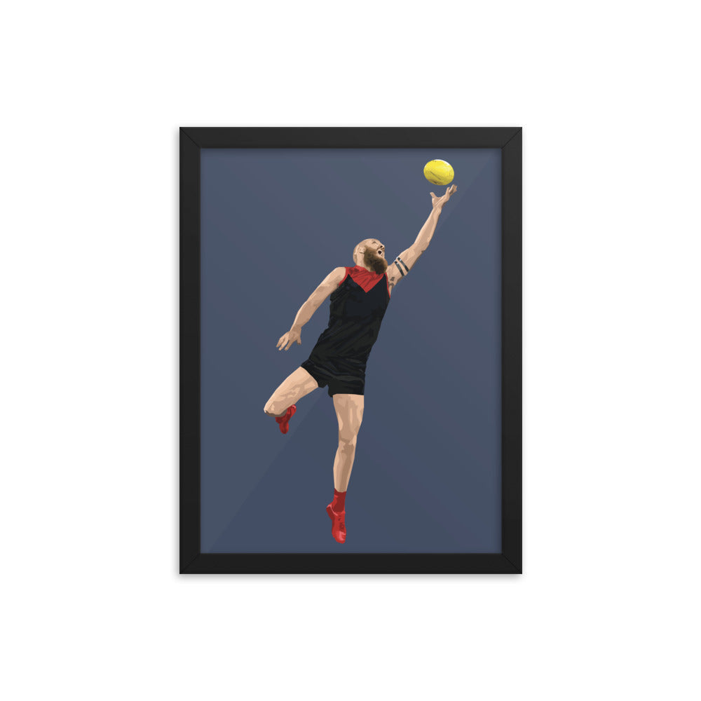 Max Gawn - Framed Artwork