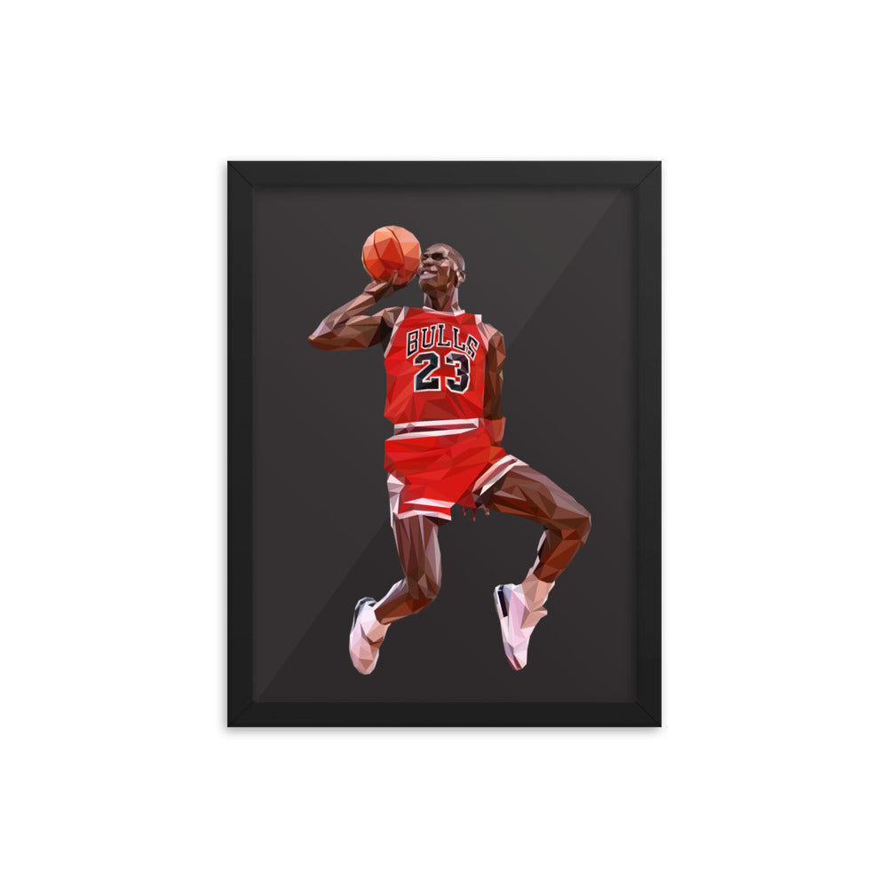 Michael Jordan - Framed Artwork