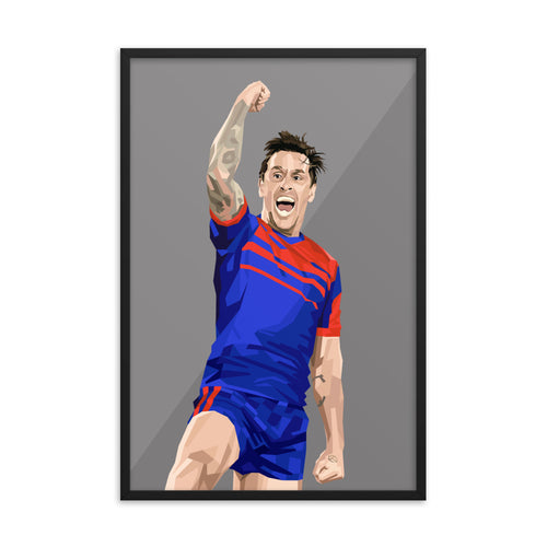 Mitchell Pearce - Framed Artwork