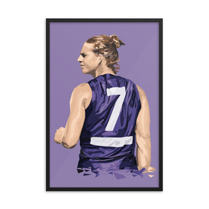 Nat Fyfe - Framed Artwork