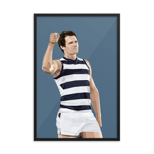 Patrick Dangerfield - Framed Artwork