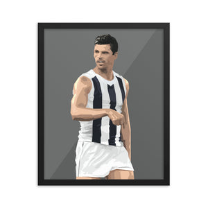 Scott Pendlebury - Framed Artwork