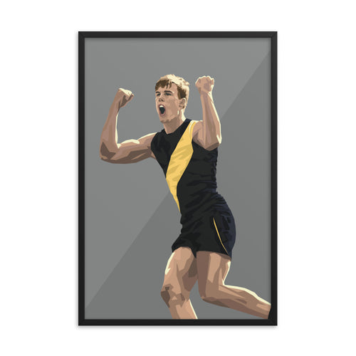 Tom Lynch Premiership Edition - Framed Artwork