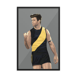 Trent Cotchin - Framed Artwork
