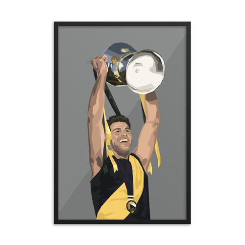 Trent Cotchin Premiership Edition - Framed Artwork