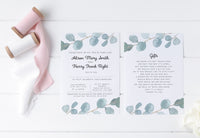 'The Atkins' wedding invite collection