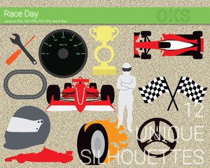 Racing elements svg, dxf, vector, eps, clipart, cricut, download