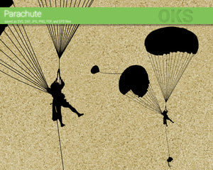 FREE parachute svg, dxf, vector, eps, clipart, cricut, download