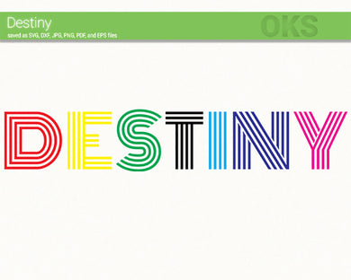 destiny, pride svg, dxf, vector, eps, clipart, cricut, download