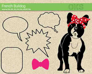 french, bulldog, dog, Crafteroks, free svg file, eps, dxf, vector, instant download, digital download, cutting file, svg clipart, cricut, svg vector, svg download, svg digital, clipart svg, vector svg, https://crafteroks.com/