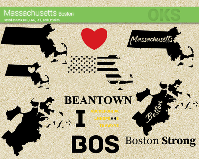 boston, massachusetts, map, american, city, flag, state, Crafteroks, free svg file, eps, dxf, vector, instant download, digital download, cutting file, svg clipart, cricut, svg vector, svg download, svg digital, clipart svg, vector svg, https://crafteroks.com/