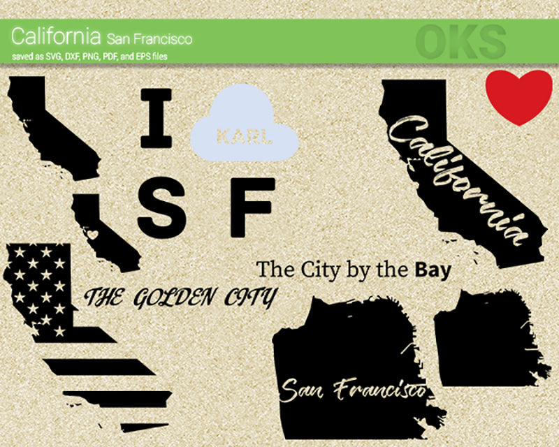 california, golden, city, san francisco, san, francisco, America, American, flag, state, city, US, united, states, map, love, Crafteroks, svg, free, free svg file, eps, dxf, vector, logo, silhouette, icon, instant download, digital download, cutting file, svg clipart, cricut, svg vector, svg download, svg digital, clipart svg, vector svg, https://crafteroks.com/