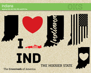 indiana, America, American, flag, state, city, US, united, states, map, love, Crafteroks, svg, free, free svg file, eps, dxf, vector, logo, silhouette, icon, instant download, digital download, cutting file, svg clipart, cricut, svg vector, svg download, svg digital, clipart svg, vector svg, https://crafteroks.com/