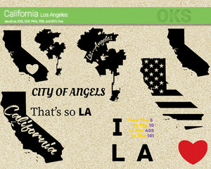 california, los angeles, los, angeles, LA, America, American, flag, state, city, US, united, states, map, love, Crafteroks, svg, free, free svg file, eps, dxf, vector, logo, silhouette, icon, instant download, digital download, cutting file, svg clipart, cricut, svg vector, svg download, svg digital, clipart svg, vector svg, https://crafteroks.com/