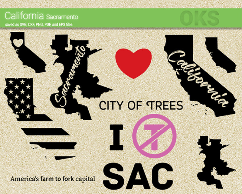 california, sacramento, america, us, american, flag, state, city, map, Crafteroks, svg, free, free svg file, eps, dxf, vector, logo, silhouette, icon, instant download, digital download, cutting file, svg clipart, cricut, svg vector, svg download, svg digital, clipart svg, vector svg, https://crafteroks.com/