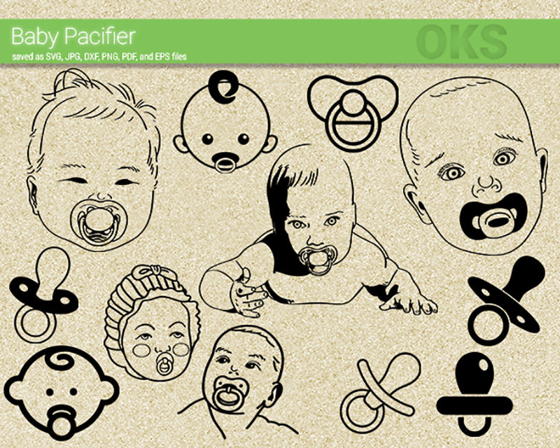 baby, pacifier, toddler, Crafteroks, svg, free, free svg file, eps, dxf, vector, logo, silhouette, icon, instant download, digital download, cutting file, svg clipart, cricut, svg vector, svg download, svg digital, clipart svg, vector svg, https://crafteroks.com/