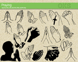 praying, pray, hands, sign, Crafteroks, svg, free, free svg file, eps, dxf, vector, logo, silhouette, icon, instant download, digital download, cutting file, svg clipart, cricut, svg vector, svg download, svg digital, clipart svg, vector svg, https://crafteroks.com/