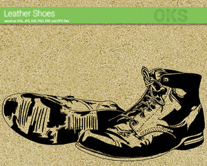 old, leather, shoes, boots, Crafteroks, svg, free, free svg file, eps, dxf, vector, logo, silhouette, icon, instant download, digital download, cutting file, svg clipart, cricut, svg vector, svg download, svg digital, clipart svg, vector svg, https://crafteroks.com/