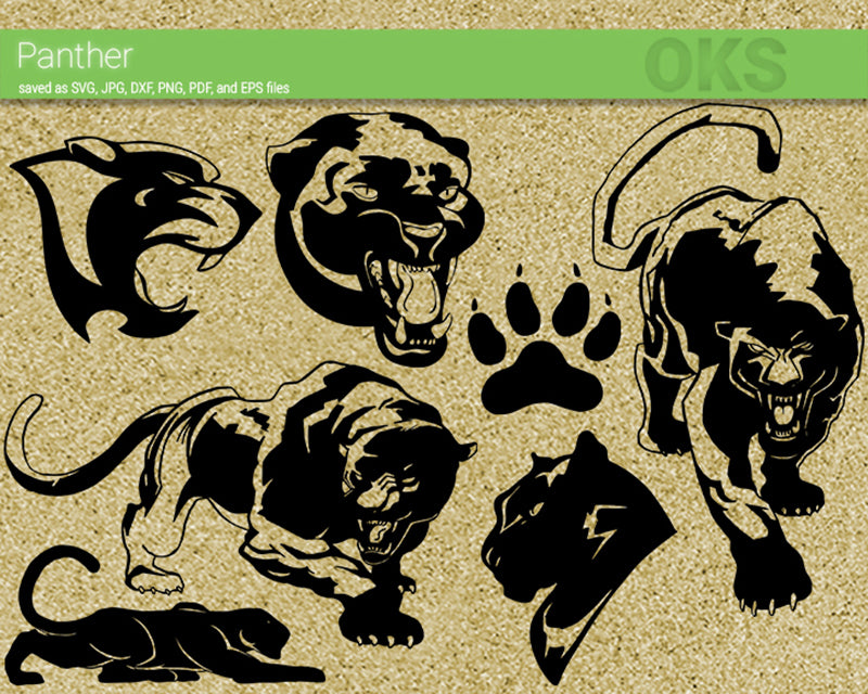 panther, black, Crafteroks, svg, free, free svg file, eps, dxf, vector, logo, silhouette, icon, instant download, digital download, cutting file, svg clipart, cricut, svg vector, svg download, svg digital, clipart svg, vector svg, https://crafteroks.com/