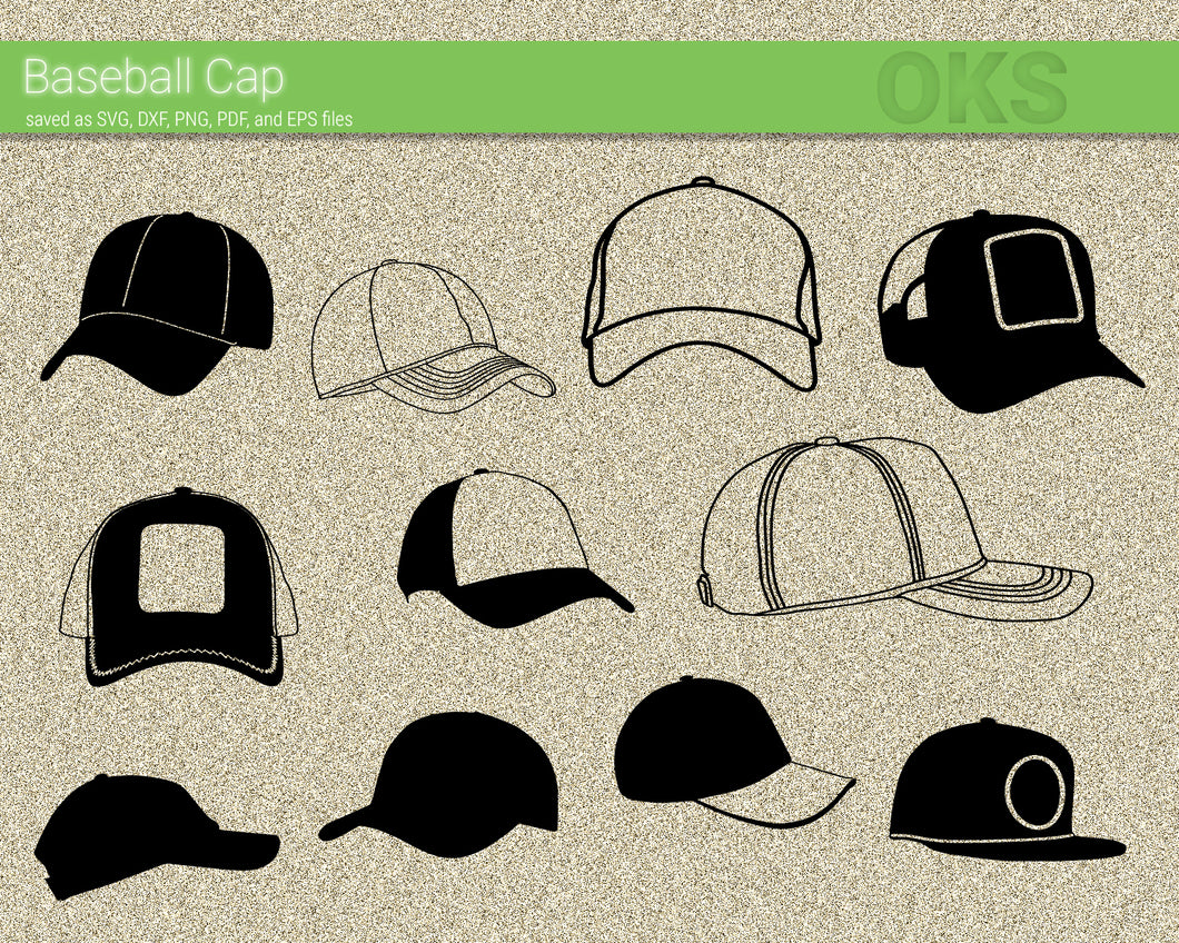 baseball, cap, base, ball, Crafteroks, svg, free, free svg file, eps, dxf, vector, logo, silhouette, icon, instant download, digital download, cutting file, svg clipart, cricut, svg vector, svg download, svg digital, clipart svg, vector svg, https://crafteroks.com/