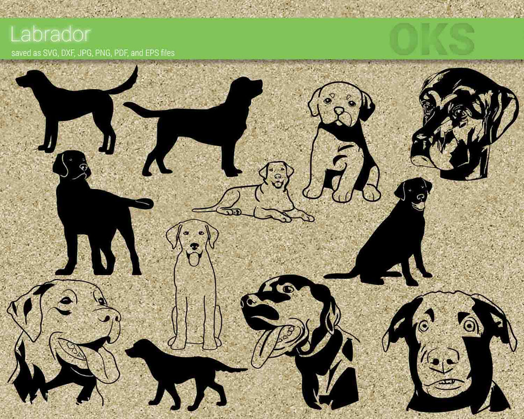 labrador, dog, breed, Crafteroks, svg, free, free svg file, eps, dxf, vector, logo, silhouette, icon, instant download, digital download, cutting file, svg clipart, cricut, svg vector, svg download, svg digital, clipart svg, vector svg, https://crafteroks.com/