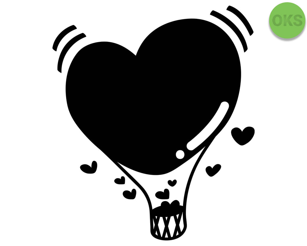 heart, shaped, hot, air, balloon, Crafteroks, svg, free, free svg file, eps, dxf, vector, logo, silhouette, icon, instant download, digital download, cutting file, svg clipart, cricut, svg vector, svg download, svg digital, clipart svg, vector svg, https://crafteroks.com/