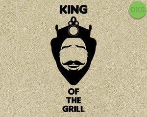 bbq, grill, king, burger, Crafteroks, svg, free, free svg file, eps, dxf, vector, logo, silhouette, icon, instant download, digital download, cutting file, svg clipart, cricut, svg vector, svg download, svg digital, clipart svg, vector svg, https://crafteroks.com/