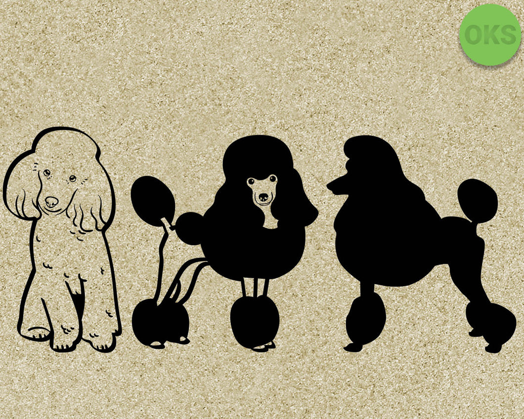poodle, dog, dogs, Crafteroks, svg, free, free svg file, eps, dxf, vector, logo, silhouette, icon, instant download, digital download, cutting file, svg clipart, cricut, svg vector, svg download, svg digital, clipart svg, vector svg, https://crafteroks.com/