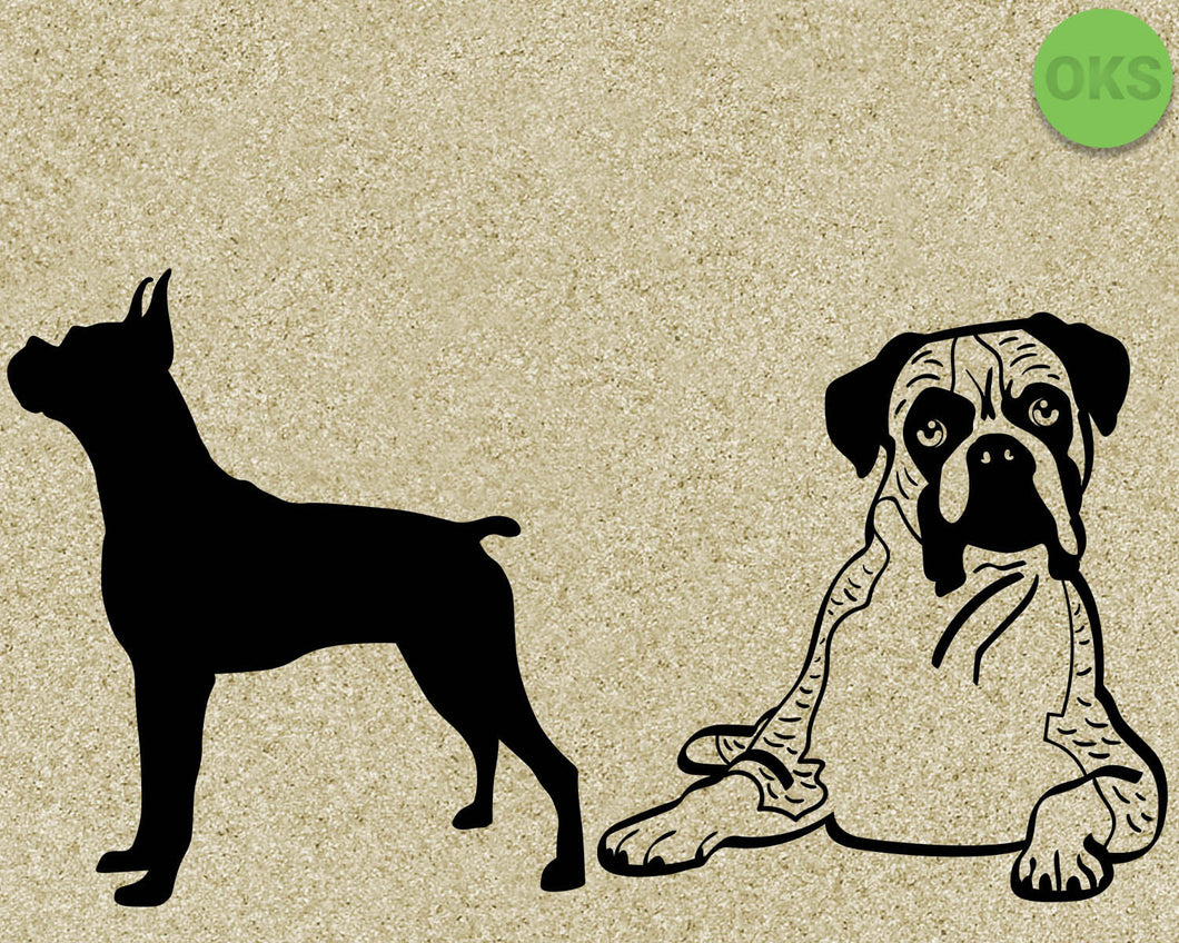 boxer, dog, dogs, Crafteroks, svg, free, free svg file, eps, dxf, vector, logo, silhouette, icon, instant download, digital download, cutting file, svg clipart, cricut, svg vector, svg download, svg digital, clipart svg, vector svg, https://crafteroks.com/
