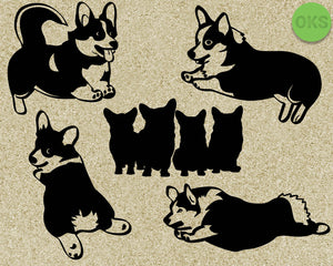 corgi, dog, Crafteroks, svg, free, free svg file, eps, dxf, vector, logo, silhouette, icon, instant download, digital download, cutting file, svg clipart, cricut, svg vector, svg download, svg digital, clipart svg, vector svg, https://crafteroks.com/