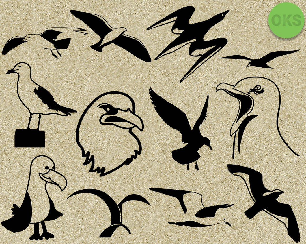 seagull, bird, Crafteroks, svg, free, free svg file, eps, dxf, vector, logo, silhouette, icon, instant download, digital download, cutting file, svg clipart, cricut, svg vector, svg download, svg digital, clipart svg, vector svg, https://crafteroks.com/
