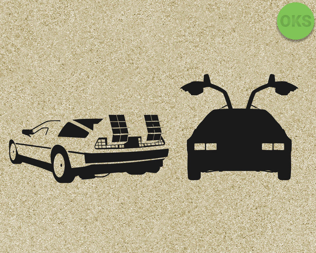 delorean, two, door, car, Crafteroks, svg, free, free svg file, eps, dxf, vector, logo, silhouette, icon, instant download, digital download, cutting file, svg clipart, cricut, svg vector, svg download, svg digital, clipart svg, vector svg, https://crafteroks.com/