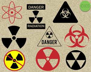 nuclear, radiation, sign, danger, Crafteroks, svg, free, free svg file, eps, dxf, vector, logo, silhouette, icon, instant download, digital download, cutting file, svg clipart, cricut, svg vector, svg download, svg digital, clipart svg, vector svg, https://crafteroks.com/