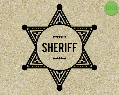 sheriff, badge, police, law, Crafteroks, svg, free, free svg file, eps, dxf, vector, logo, silhouette, icon, instant download, digital download, cutting file, svg clipart, cricut, svg vector, svg download, svg digital, clipart svg, vector svg, https://crafteroks.com/