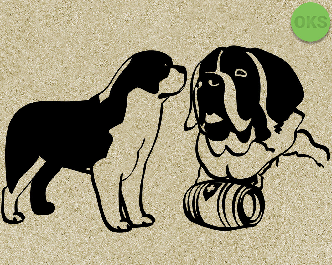 saint, bernard, dog, Crafteroks, svg, free, free svg file, eps, dxf, vector, logo, silhouette, icon, instant download, digital download, cutting file, svg clipart, cricut, svg vector, svg download, svg digital, clipart svg, vector svg, https://crafteroks.com/