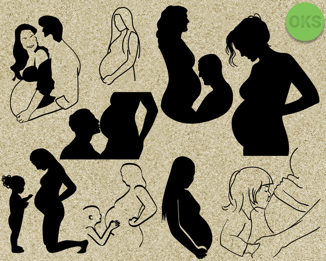 pregnancy, pregnant, woman, husband, Crafteroks, svg, free, free svg file, eps, dxf, vector, instant download, digital download, cutting file, svg clipart, cricut, svg vector, svg download, svg digital, clipart svg, vector svg, https://crafteroks.com/
