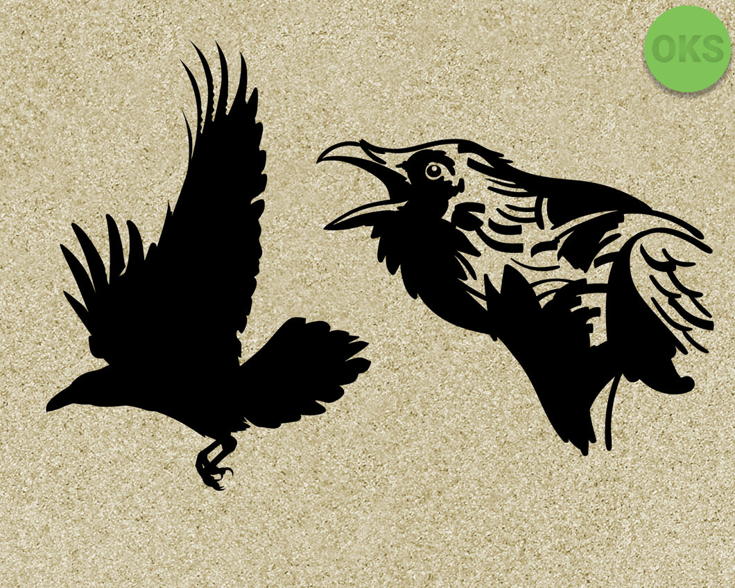 raven, bird, Crafteroks, svg, free, free svg file, eps, dxf, vector, instant download, digital download, cutting file, svg clipart, cricut, svg vector, svg download, svg digital, clipart svg, vector svg, https://crafteroks.com/