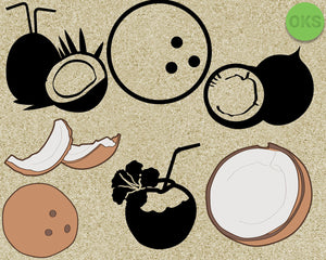 coconut, buko, tropical, juice, Crafteroks, free svg file, eps, dxf, vector, instant download, digital download, cutting file, svg clipart, cricut, svg vector, svg download, svg digital, clipart svg, vector svg, https://crafteroks.com/