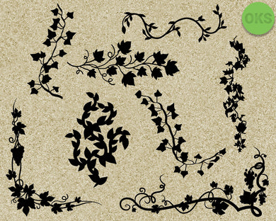 vines, ornament, decorative, decoration, Crafteroks, svg, free, free svg file, eps, dxf, vector, instant download, digital download, cutting file, svg clipart, cricut, svg vector, svg download, svg digital, clipart svg, vector svg, https://crafteroks.com/