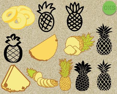 pineapple, fruits, fruit, Crafteroks, svg, free, free svg file, eps, dxf, vector, instant download, digital download, cutting file, svg clipart, cricut, svg vector, svg download, svg digital, clipart svg, vector svg, https://crafteroks.com/