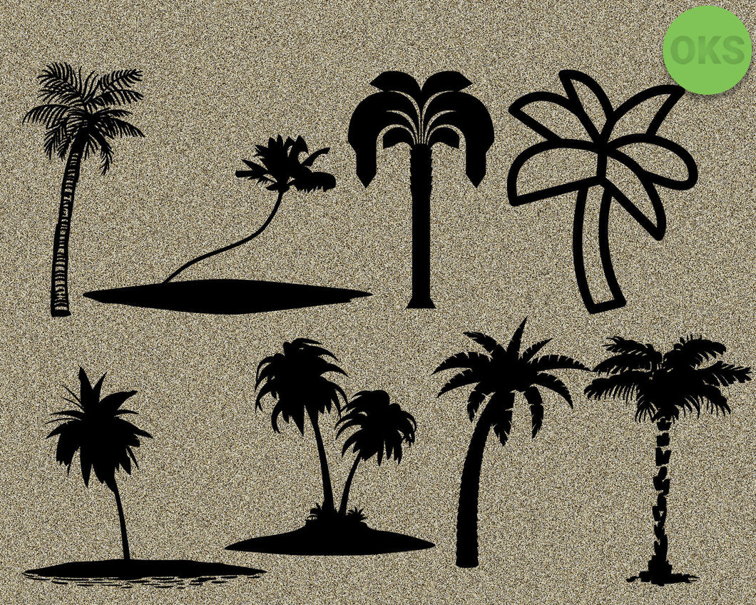palm, trees, tree, island, Crafteroks, svg, free, free svg file, eps, dxf, vector, instant download, digital download, cutting file, svg clipart, cricut, svg vector, svg download, svg digital, clipart svg, vector svg, https://crafteroks.com/