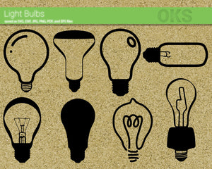 light, bulb, idea, Crafteroks, svg, free, free svg file, eps, dxf, vector, instant download, digital download, cutting file, svg clipart, cricut, svg vector, svg download, svg digital, clipart svg, vector svg, https://crafteroks.com/