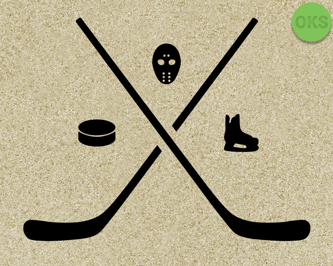 hockey, puck, mask, skates, Crafteroks, svg, free, free svg file, eps, dxf, vector, logo, silhouette, icon, instant download, digital download, cutting file, svg clipart, cricut, svg vector, svg download, svg digital, clipart svg, vector svg, https://crafteroks.com/