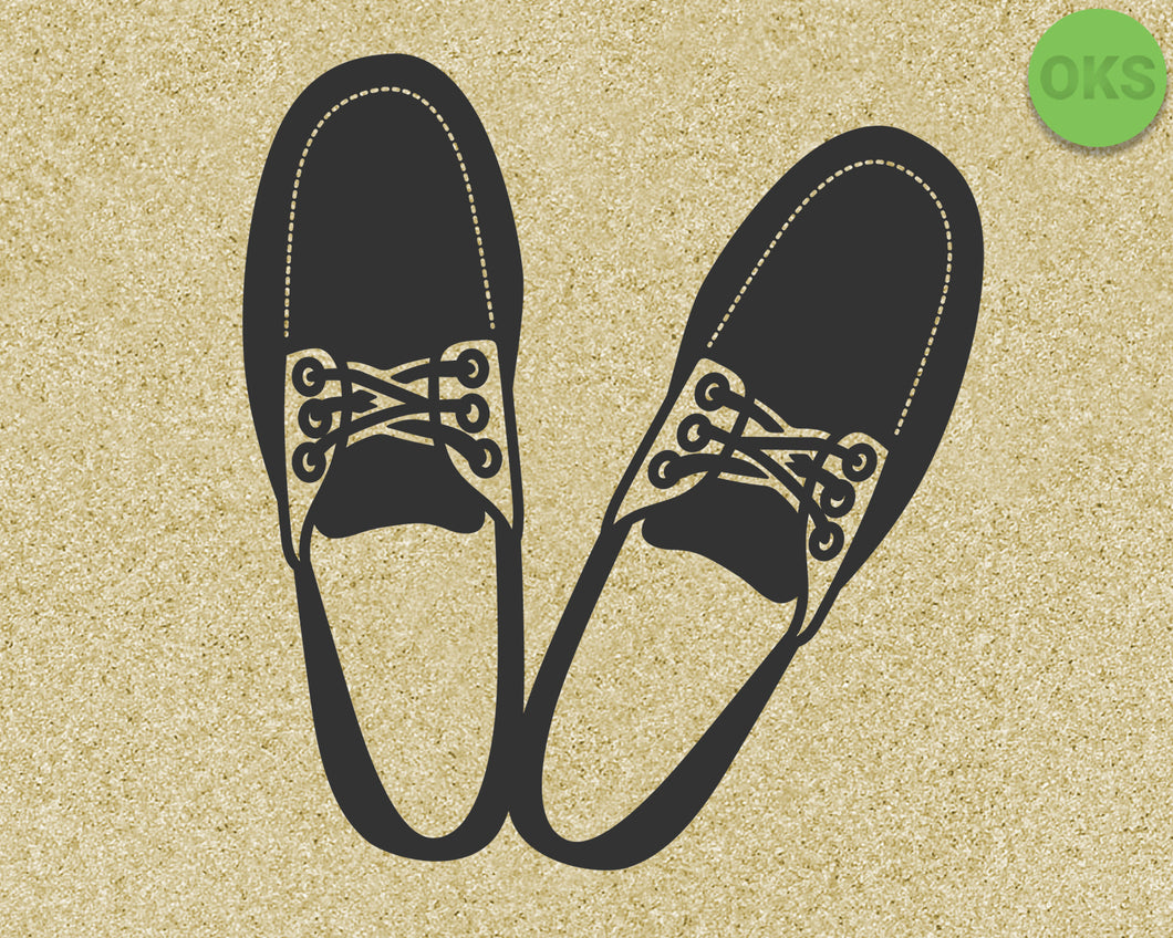 boat shoes, loafers for men svg, vector, eps, dxf