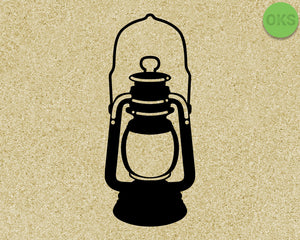 Old Lantern, Vintage svg, dxf, vector, eps, clipart, cricut, download