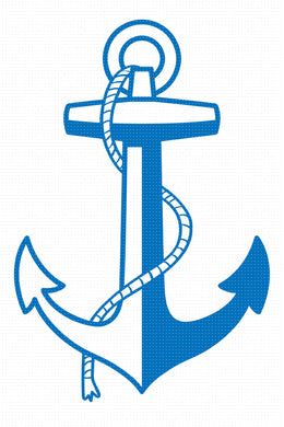anchor SVG, nautical PNG, clipart, vector cut file instant download
