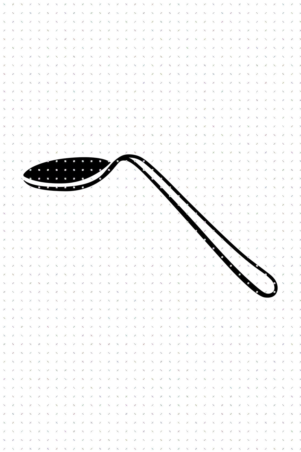 FREE bent spoon for Personal Use SVG, spoon bending PNG clipart, DXF, clipart, EPS, vector cut file instant download