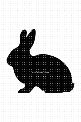FREE bunny, rabbit for Personal Use SVG, PNG clipart, DXF, clipart, EPS, vector cut file instant download