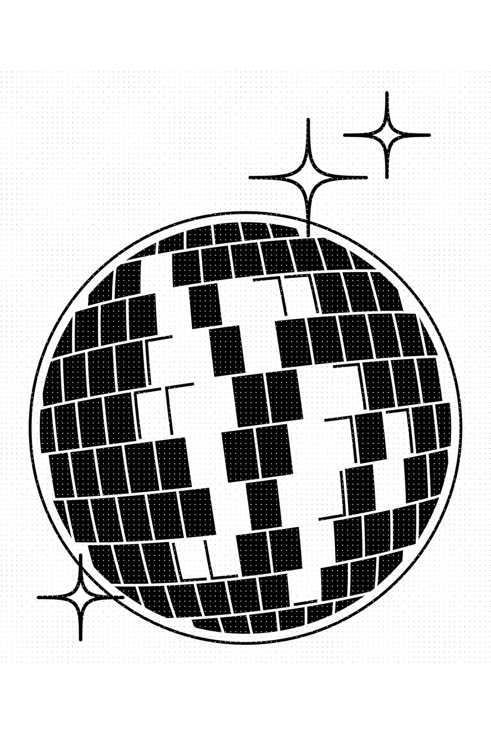 FREE disco ball for Personal Use SVG, PNG clipart, DXF, clipart, EPS, vector cut file instant download