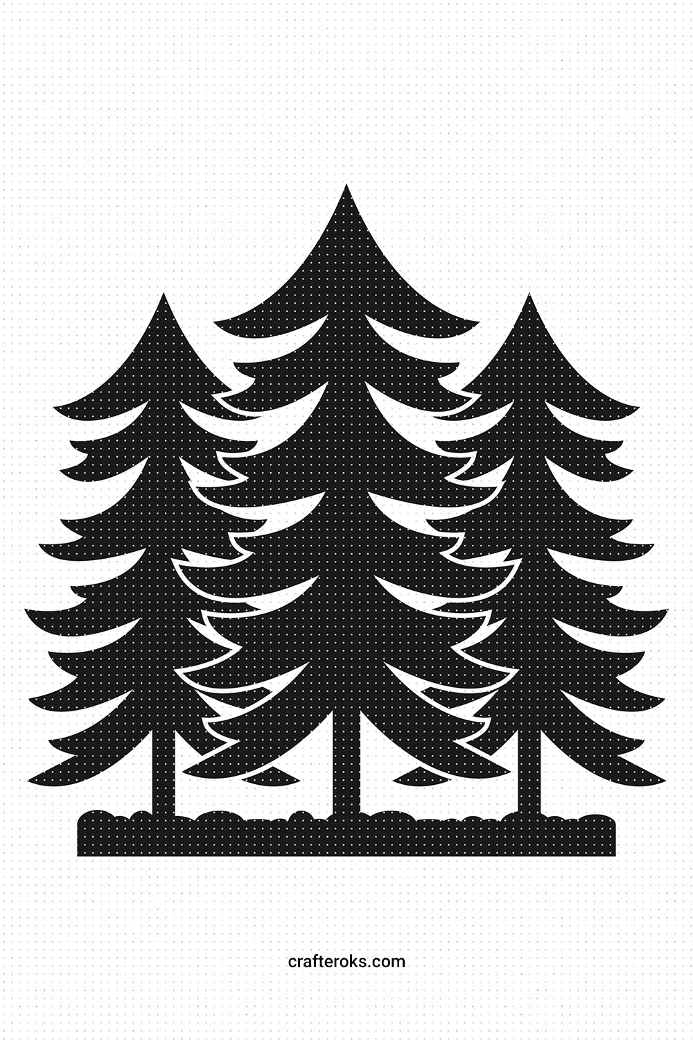 forest SVG, PNG, DXF, clipart, EPS, vector cut file instant download